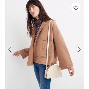 Madewell Sweater jacket camel size XXS